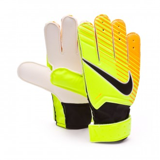 Guanti  Nike Jr Match Volt-Laser orange-Black