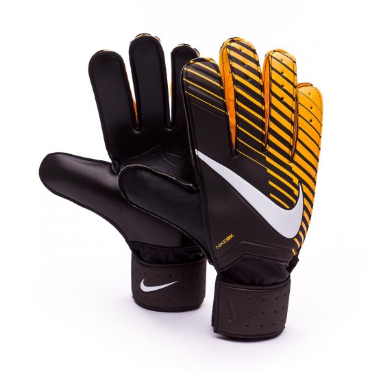 Guanti  Nike Match Black-Laser orange-White