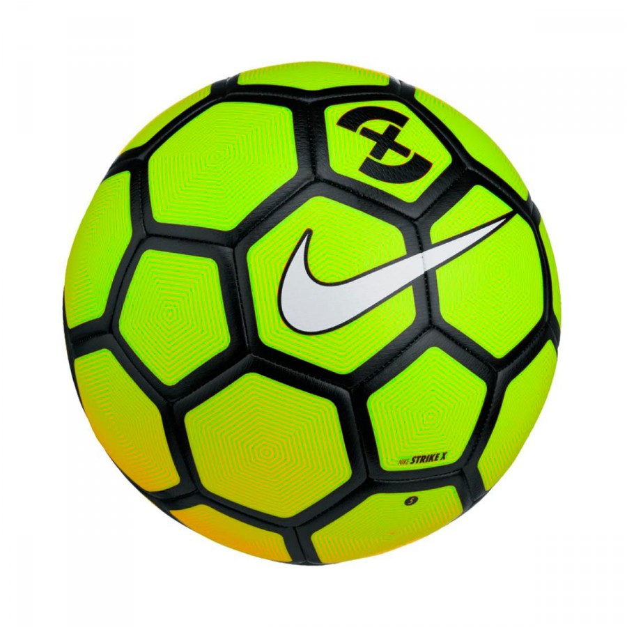 Ball Nike FootballX Strike Volt-Laser orange-Black-White - Football ... 306fd2f6e2d20