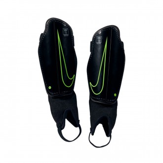 Shinpads  Nike Kids Charge Football Black-Volt