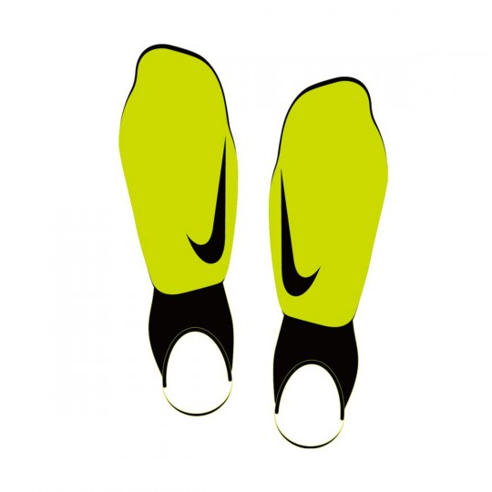 Espinillera  Nike jr Charge Football Volt-Black