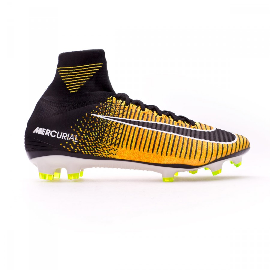 online store 89e4d 39650 Football Boots Nike Mercurial Superfly V ACC FG Laser orange-Black-White-Volt  - Football store Fútbol Emotion