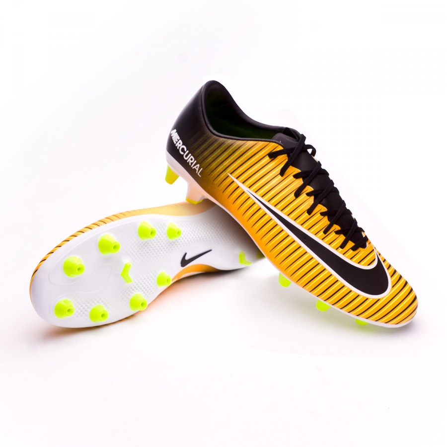 8b2bc1cd0562 Football Boots Nike Mercurial Victory VI AG-Pro Laser orange-Black ...