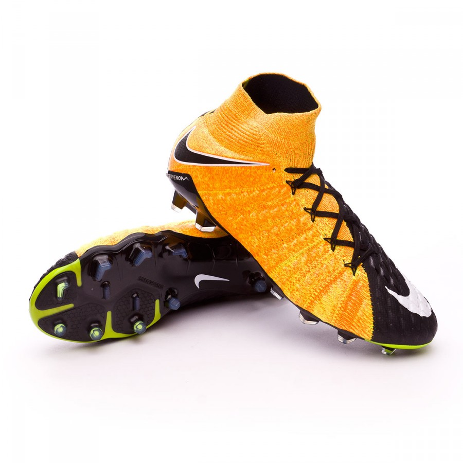 d79bf7b1b1c Nike Hypervenom Phantom III ACC DF FG Football Boots. Laser orange-Black- White ...
