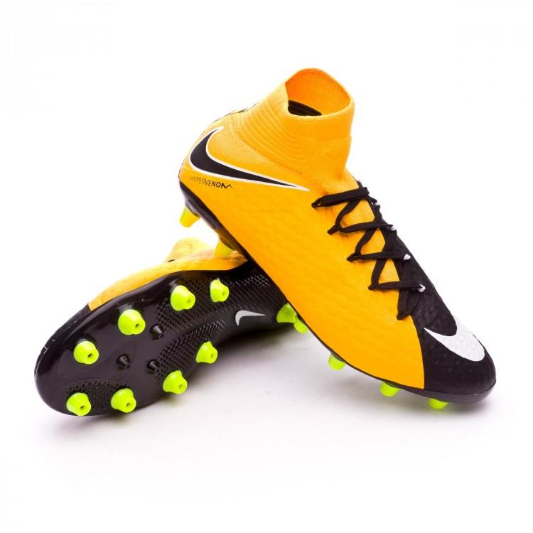 Bota de fútbol Nike Hypervenom Phatal III DF AG-Pro Laser orange ... fb80a8ba06200