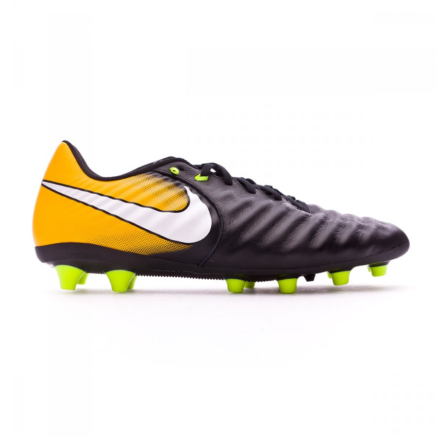 separation shoes f1c66 f8c2c Football Boots Nike Tiempo Ligera IV AG-Pro Black-White-Laser orange-Volt -  Football store Fútbol Emotion