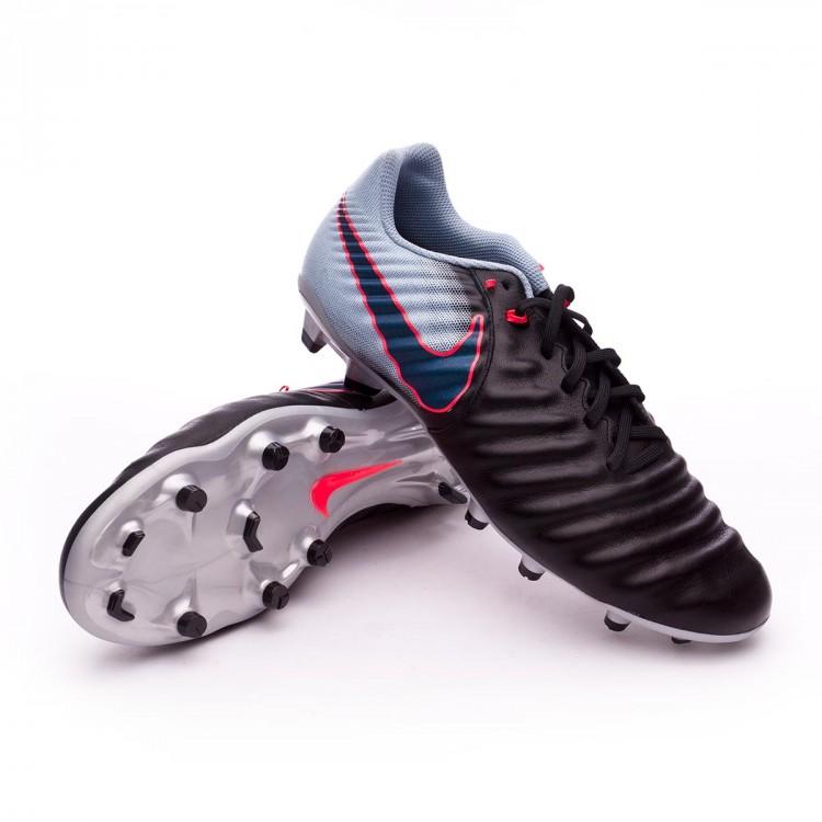 79358a553d62 Zapatos de fútbol Nike Tiempo Ligera IV FG Black-Armory navy-Light ...