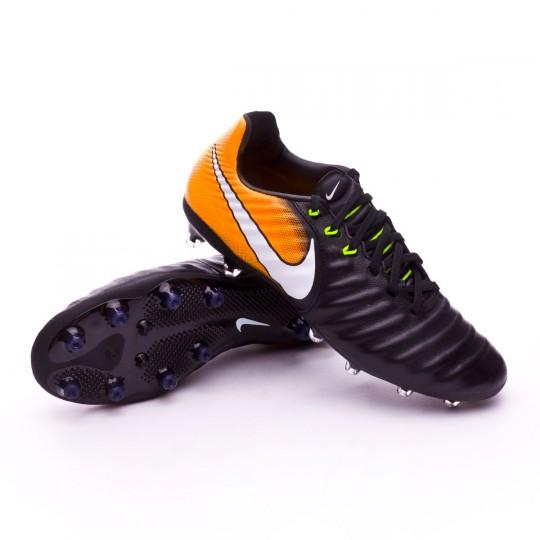 Chaussure  Nike Tiempo Legacy III AG-Pro Black-White-Laser orange-Volt
