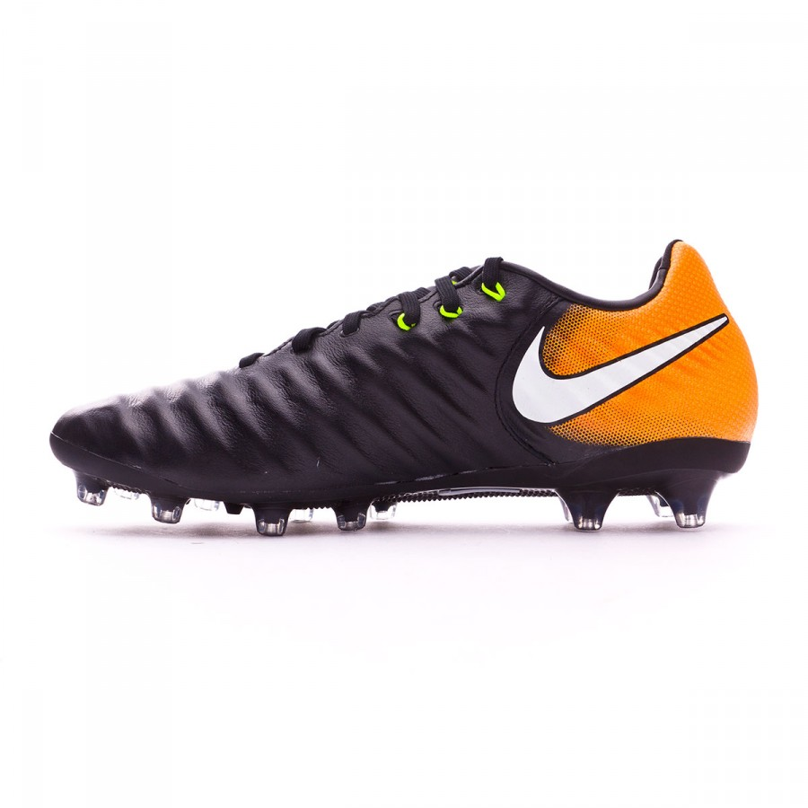 11e4cf5f650 Football Boots Nike Tiempo Legacy III AG-Pro Black-White-Laser orange-Volt  - Football store Fútbol Emotion