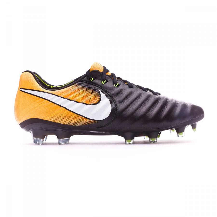 2d5f71b8561 Football Boots Nike Tiempo Legend VII ACC FG Black-White-Laser orange-Volt  - Tienda de fútbol Fútbol Emotion