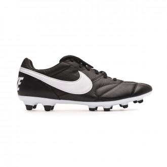 Chuteira Nike Tiempo Premier II FG Black-White