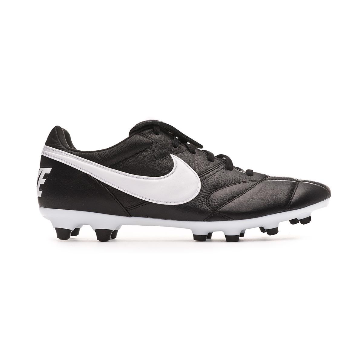 san francisco db77a 7fd22 Chaussure de foot Nike Tiempo Premier II FG Black-White - Boutique de  football Fútbol Emotion