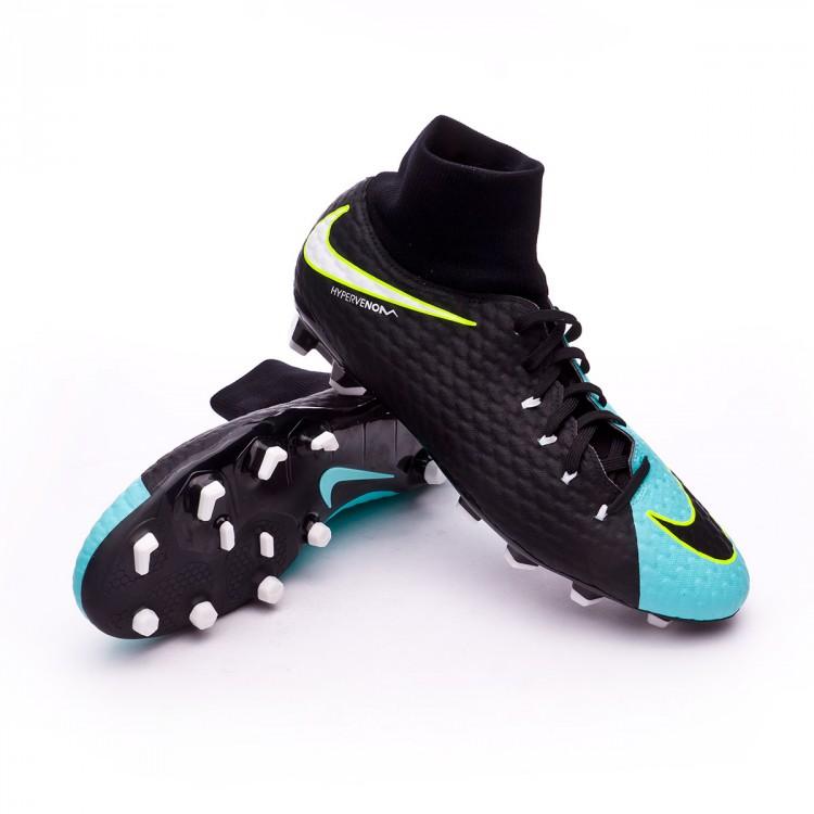 d3e2a1559 Football Boots Nike Hypervenom Phelon III DF FG Light aqua-White ...