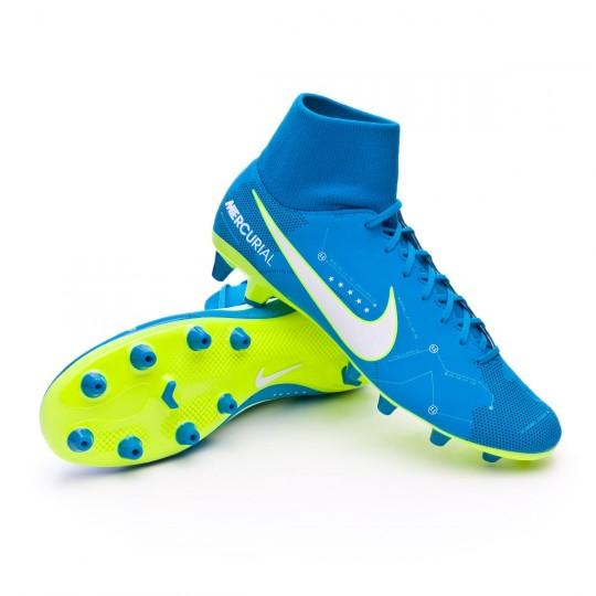 Chaussure  Nike Mercurial Victory VI DF AG-Pro Neymar Blue orbit-White-Armory navy