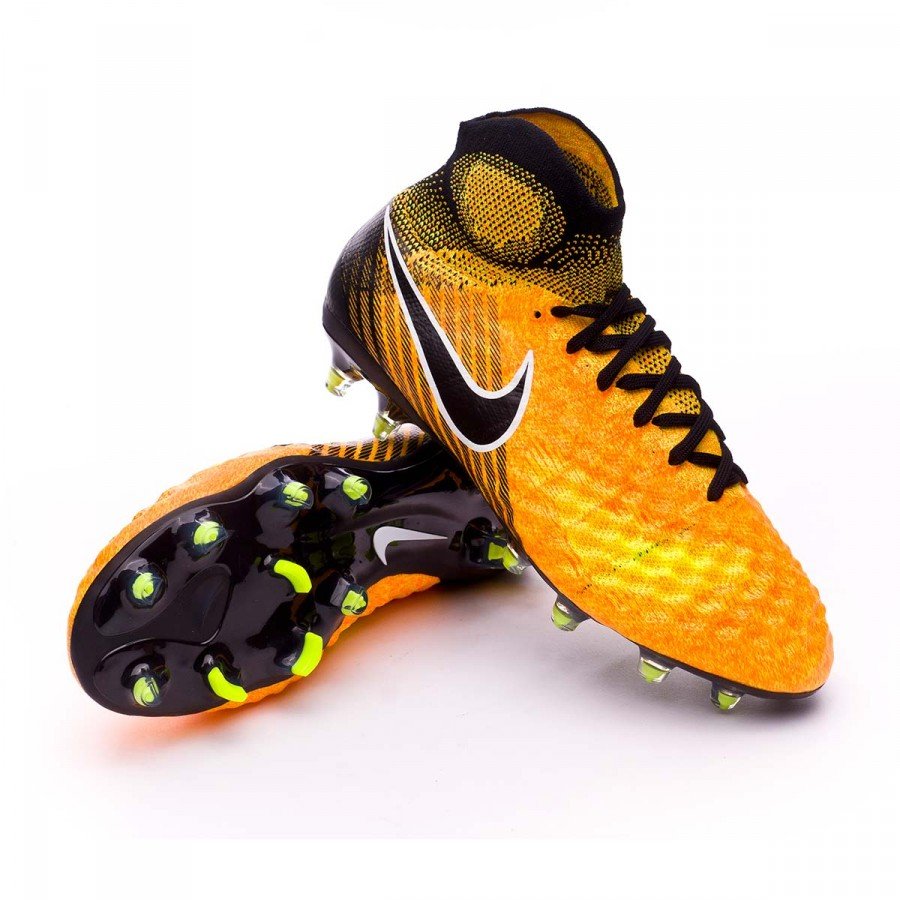 online store cac1e 3afe4 ... Bota Magista Obra II FG Niño Laser orange-Black-White-Volt. CATEGORÍA.  Zapatos de fútbol · Zapatos Nike