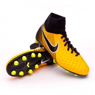 Chuteira  Nike Jr Magista Onda II DF AG-Pro Laser orange-Black-White-Volt