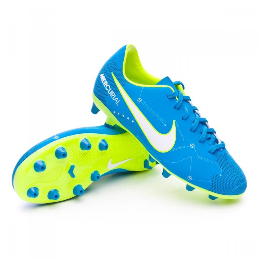 c14ba49a45b Football Boots Nike Kids Mercurial Victory VI AG-Pro Neymar Blue ...