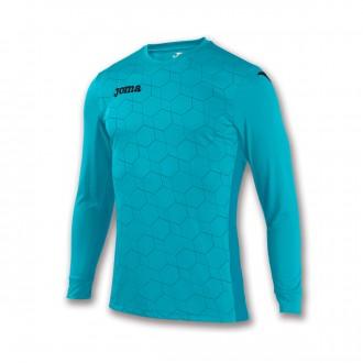 Camiseta  Joma Derby III m/l Azul celeste