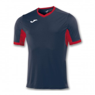 Jersey  Joma Champion IV ss Navy blue-Red
