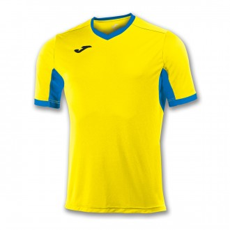 Jersey  Joma Champion IV ss Yellow-Royal blue