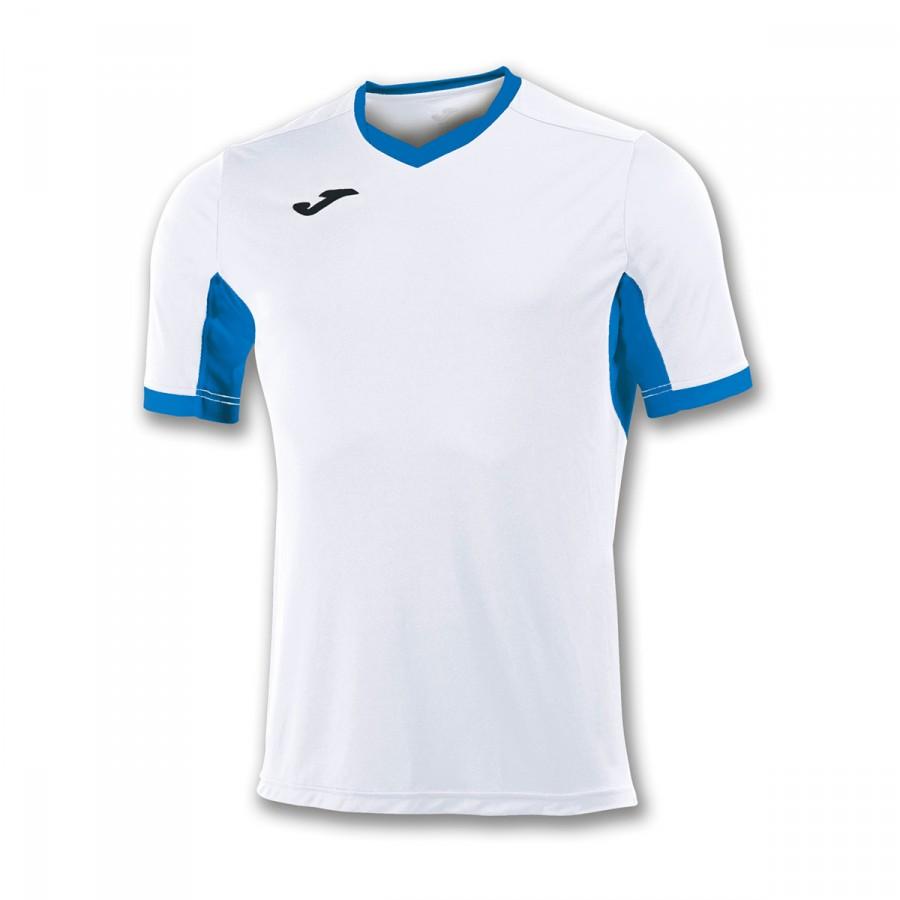 241134b4d Jersey Joma Champion IV ss White-Royal Blue - Tienda de fútbol ...