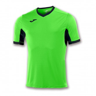 Jersey  Joma Champion IV ss Safety green-Black