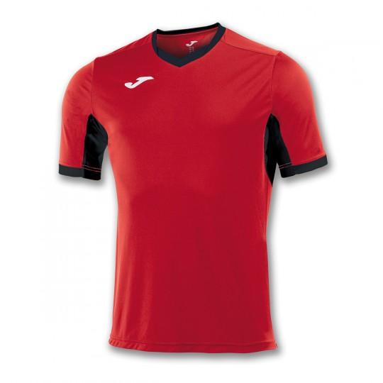 Camiseta  Joma Champion IV m/c Rojo-Negro