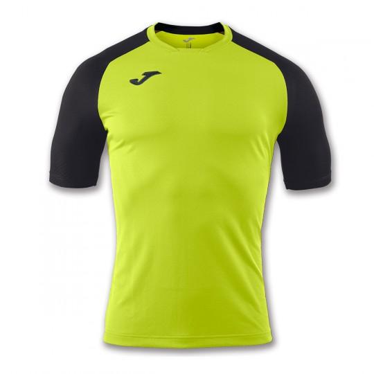 Camiseta  Joma Emotion m/c Verde lima-Negro