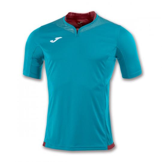Camiseta  Joma Silver m/c Azul turquesa