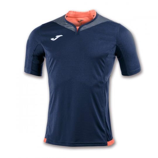 Camiseta  Joma Silver m/c Azul marino