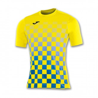 Jersey  Joma Flag ss Yellow-Royal blue