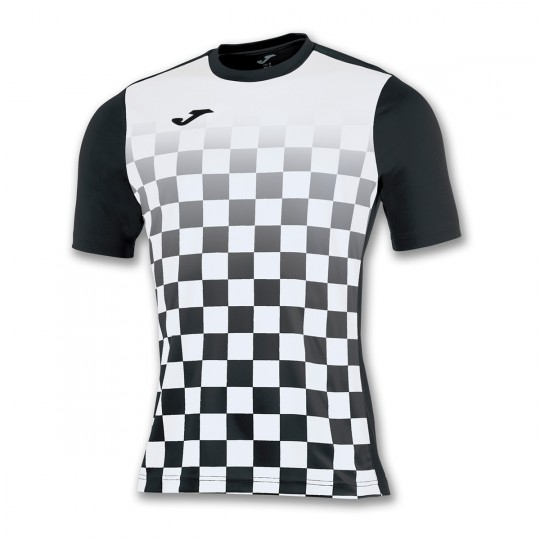 Jersey Joma Flag ss Black-White - Football store Fútbol Emotion