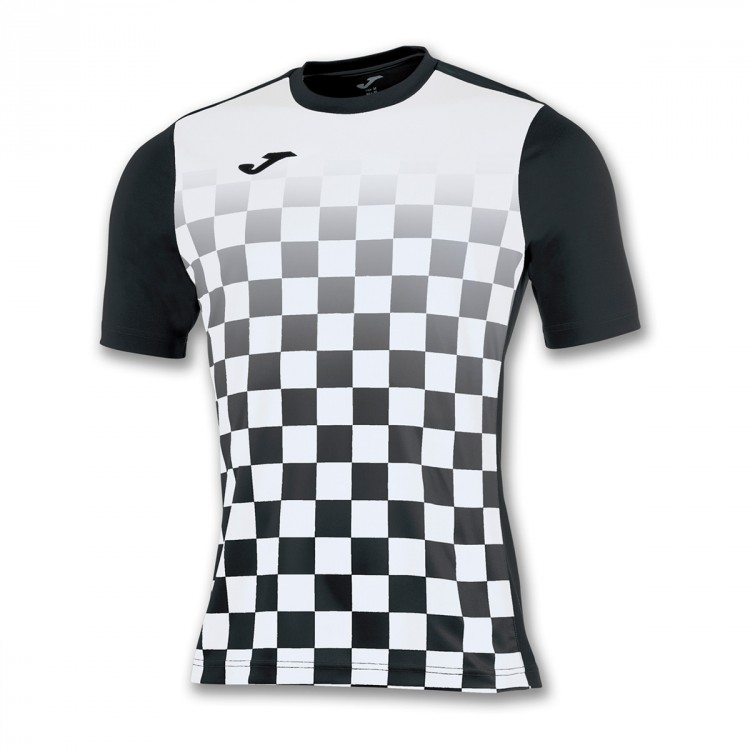 Jersey Joma Flag ss Black-White - Soloporteros es ahora Fútbol Emotion
