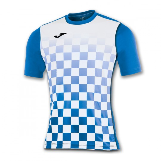 Camiseta  Joma Flag m/c Azul royal-Blanco