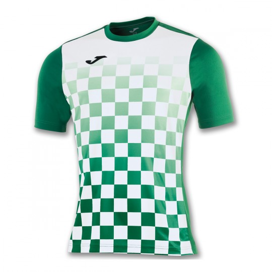 Camiseta  Joma Flag m/c Verde-Blanco