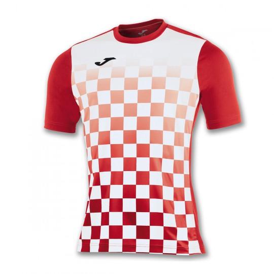 Camiseta  Joma Flag m/c Rojo-Blanco