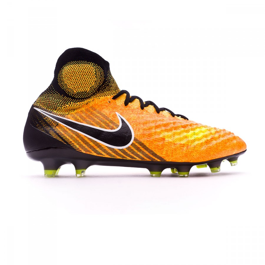new product 7ebca 96e64 Football Boots Nike Magista Obra II ACC FG Laser Orange-Black white-Volt -  Football store Fútbol Emotion