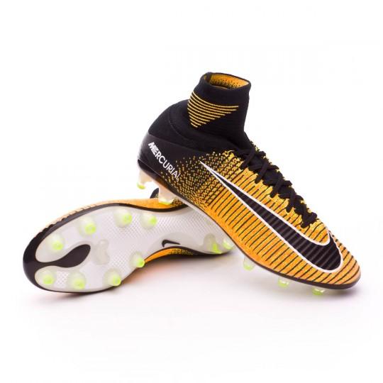 Chaussure  Nike Mercurial Superfly V ACC AG-Pro Laser orange-Black-White-Volt