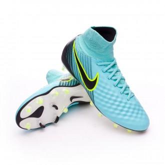 Boot Nike Magista Orden II FG Light aqua-Black-Igloo-White