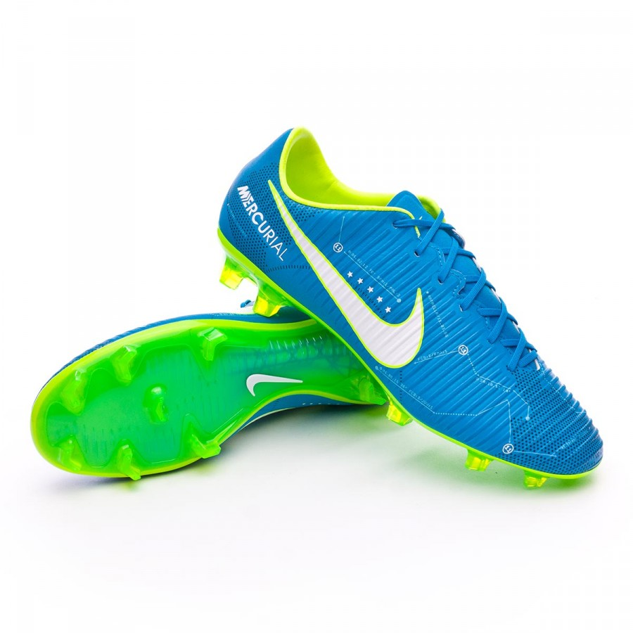 eea51654886f Chaussure de foot Nike Mercurial Veloce III FG Neymar Blue  orbit-White-Armory navy - Boutique de football Fútbol Emotion