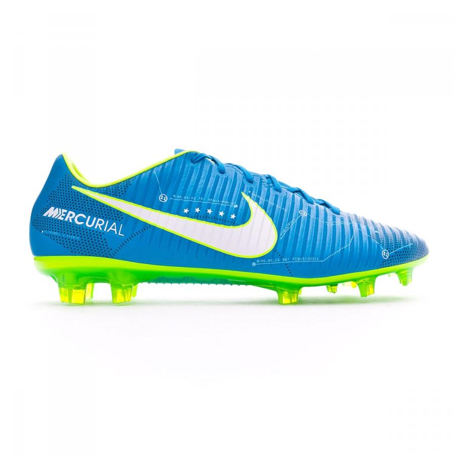 017116f1f4b8 Football Boots Nike Mercurial Veloce III FG Neymar Blue orbit-White-Armory  navy - Football store Fútbol Emotion