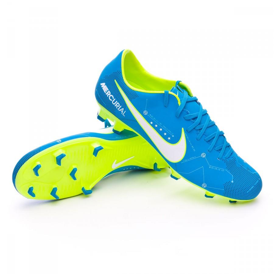 cf280b9fa Nike Mercurial Victory VI FG Neymar Football Boots. Blue orbit-White-Armory  navy ...