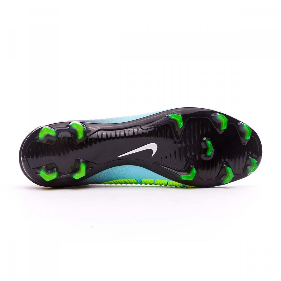 Boot Nike Mercurial Veloce III DF FG Light aqua-White-Black-Volt -  Soloporteros es ahora Fútbol Emotion 4f456380b