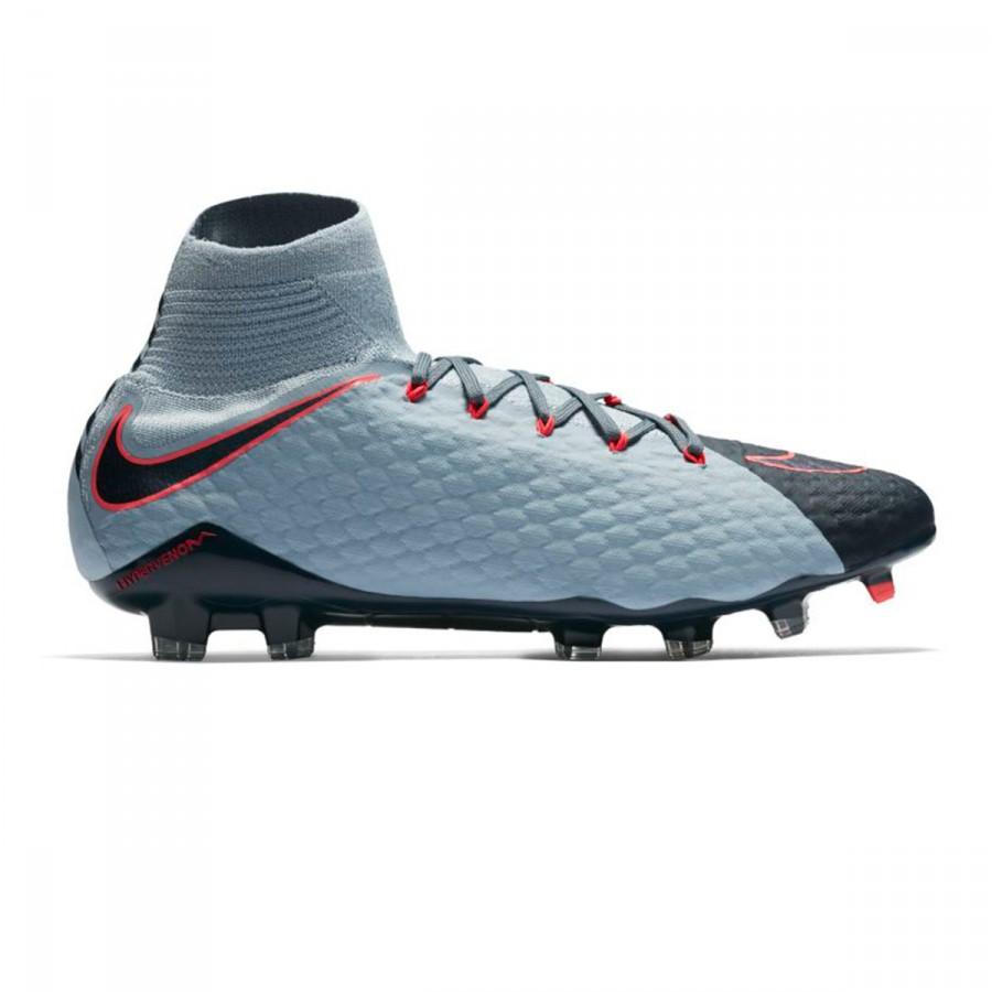 62174e0bba0d Bota de fútbol Nike Hypervenom Phatal III DF FG Light armory blue-armory  navy-armory blue - Tienda de fútbol Fútbol Emotion