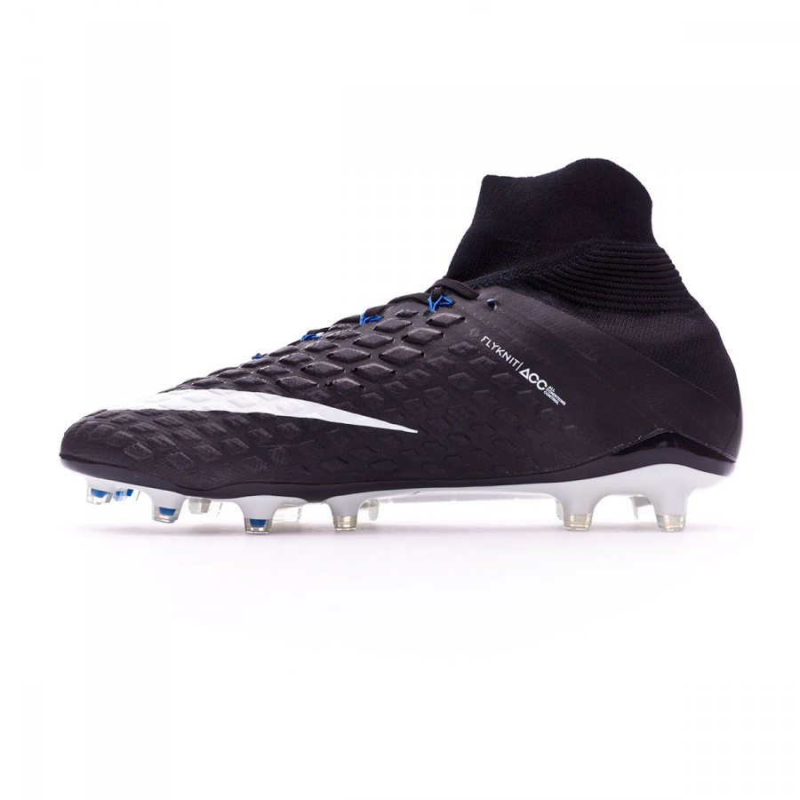 best loved 3eee8 f1315 Boot Nike Hypervenom Phantom III ACC DF FG Black-White-Game royal - Football  store Fútbol Emotion