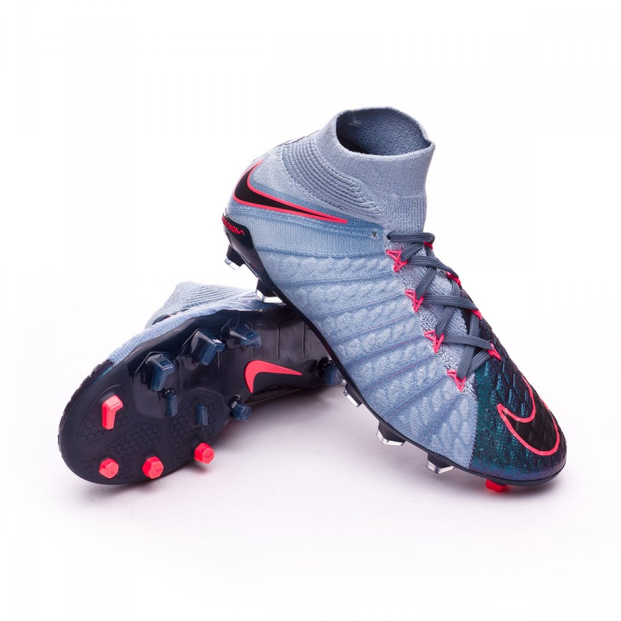 cfa56f892 Football Boots Nike Jr Hypervenom Phantom III DF FG Light armory ...