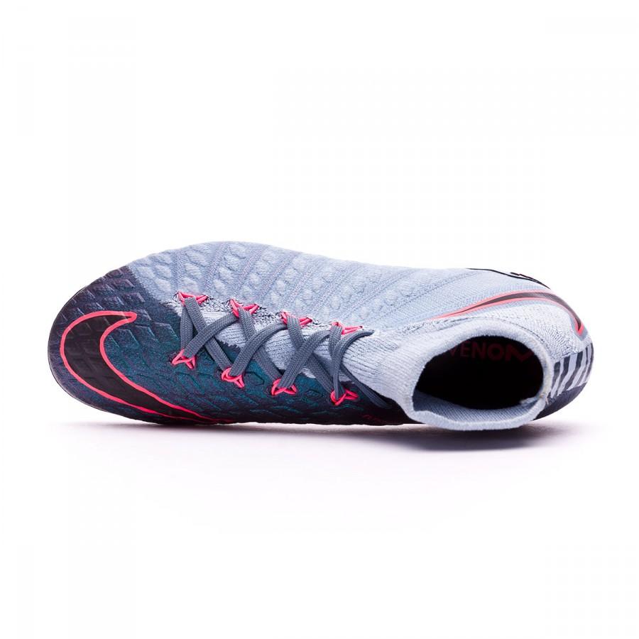 c00e7ac10 Zapatos de fútbol Nike Hypervenom Phantom III DF FG Niño Light armory blue- armory navy-armory blue - Tienda de fútbol Fútbol Emotion