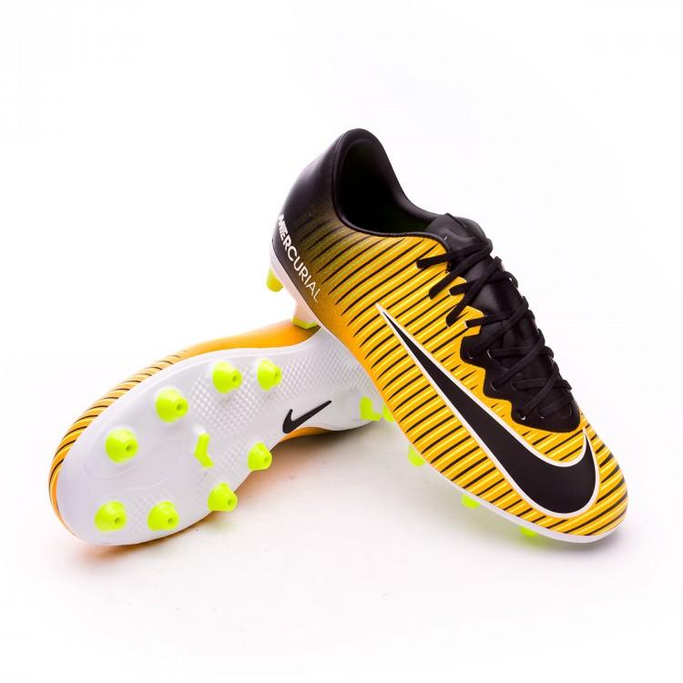 34669468524c Boot Nike Kids Mercurial Vapor XI AG Laser orange-Black-White-Volt ...