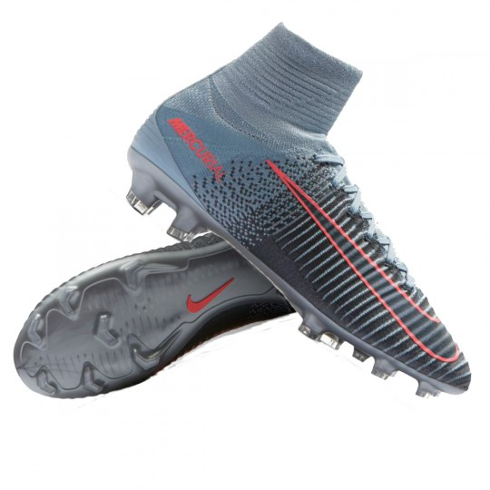 Chaussure  Nike Jr Mercurial Superfly V DF FG Light armory blue-armory navy-armory blue