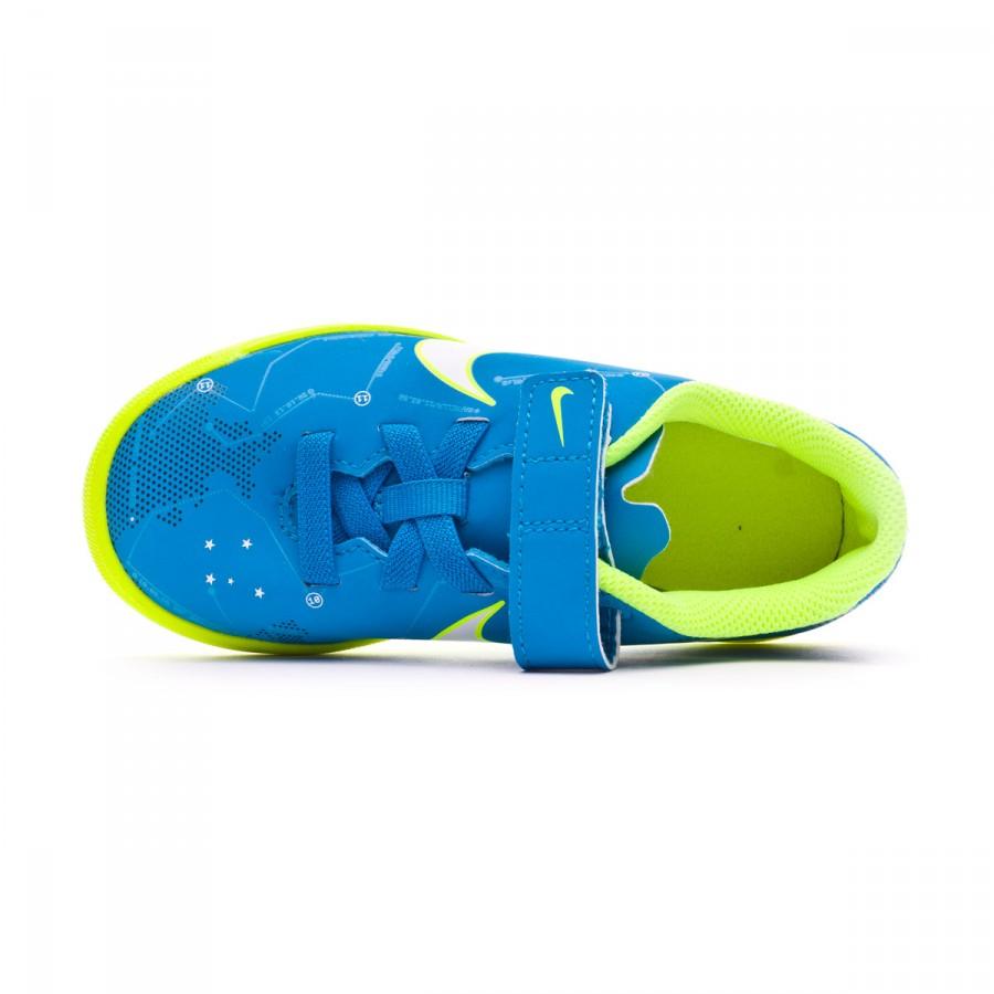 Football Boot Nike Jr Mercurial Vortex III Velcro Turf Neymar Jr Blue orbit- White-Armory navy - Leaked soccer 85d9f799d6db2